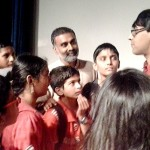 A workshop on Poetry, Drumming & Mathematics from Mr.Manjul Bhargav