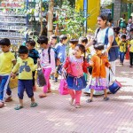Preprimary children at Makkalkoota Park